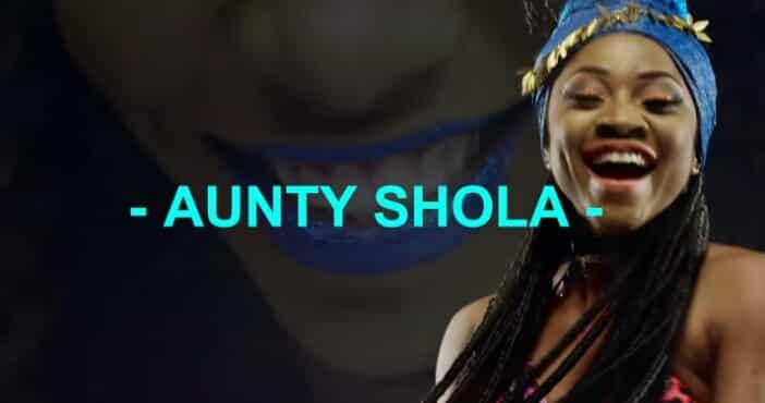 Blackmagic Aunty Shola video