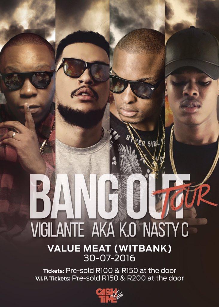 DJ Vigilante The Bang Out Tour