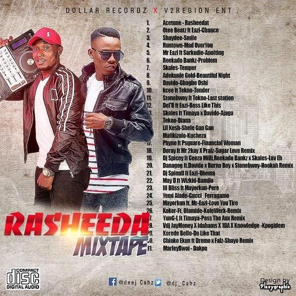 DJ Cahz RASHEEDA Mixtape