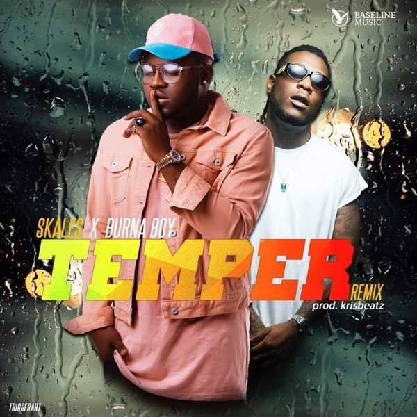 DOWNLOAD MP3: Skales – Temper (Remix) ft  Burna Boy - NaijaVibes