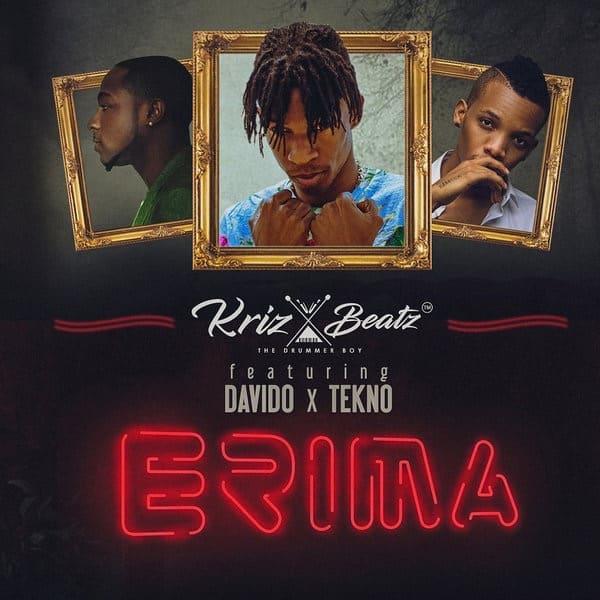 DOWNLOAD MP3: KrizBeatz – Erima ft  Davido x Tekno - NaijaVibes