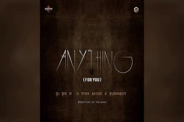 DJ Big N Anything Artwork