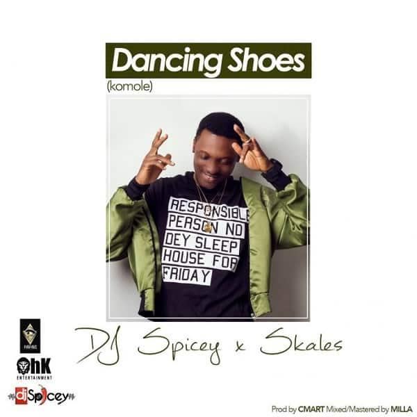 DJ Spicey Dancing Shoes (Komole) Artwork