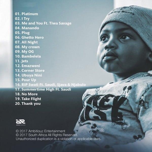 Emtee Manando Album Tracklist