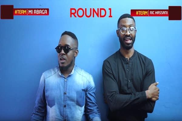 Finish The Lyrics Challenge - M.I Abaga vs Ric Hassani