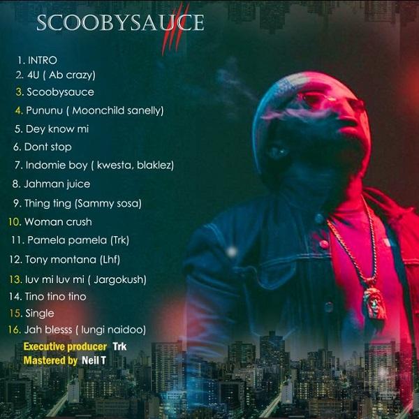 Scooby Nero Scooby Sauce EP Tracklist