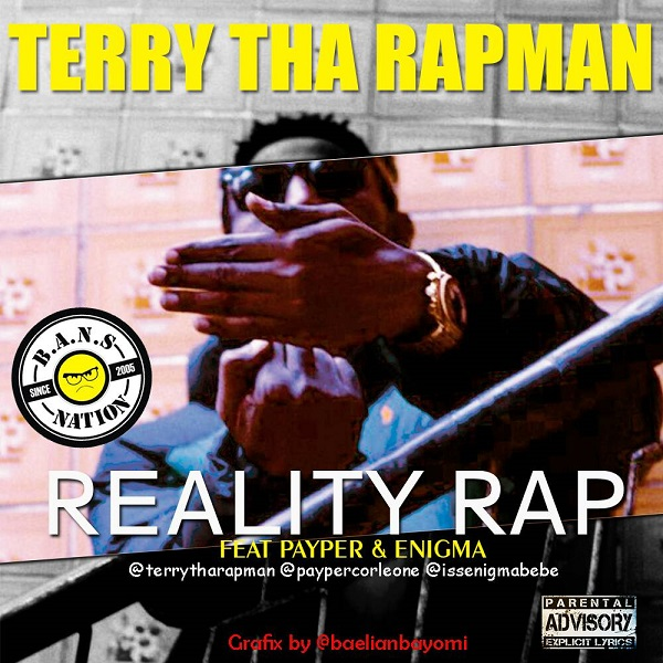 Terry Tha Rapman Reality Rap Artwork