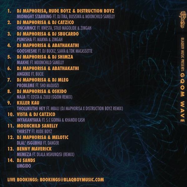 DJ Maphorisa Gqom Wave Album Tracklist