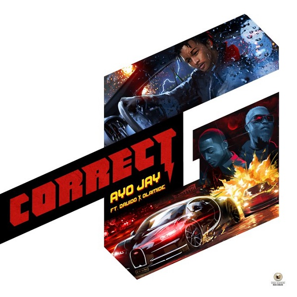 Ayo Jay Correct G Artwork
