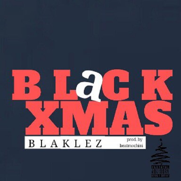 Blaklez Black Xmas Artwork