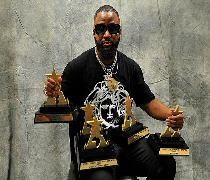 Cassper Nyovest Awards