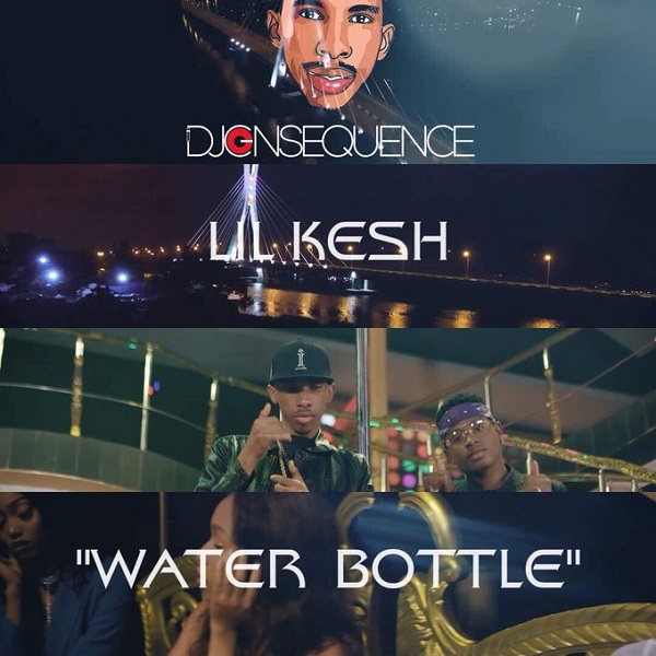 DJ Consequence Bottle Water