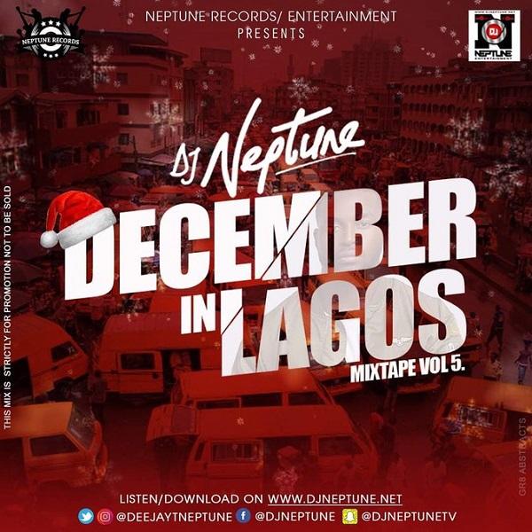 DJ Neptune December In Lagos Mixtape (Vol 5) Artwork
