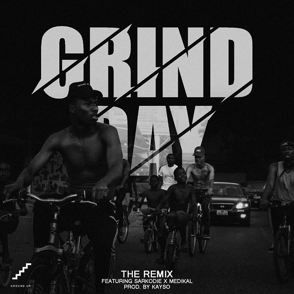 Kwesi Arthur Grind Day (Remix) Artwork