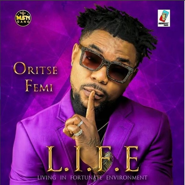 Oritse Femi LIFE Album Artwork