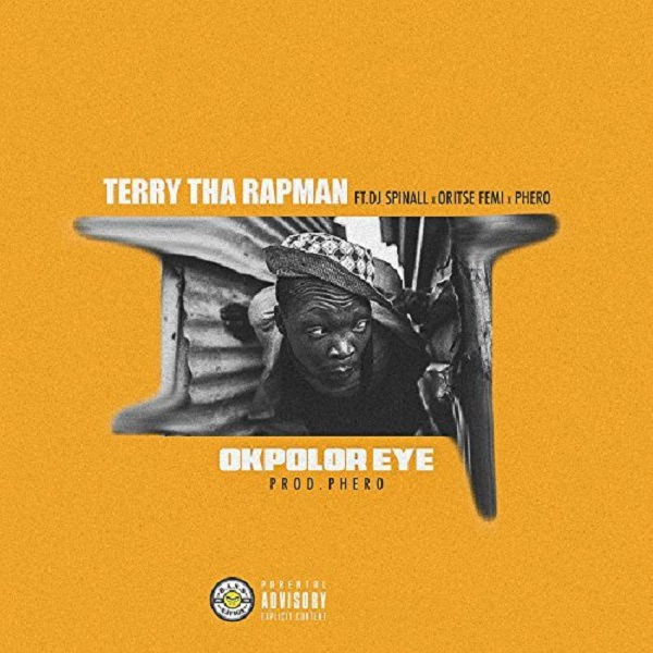 Terry Tha Rapman Okpolor Eye Artwork