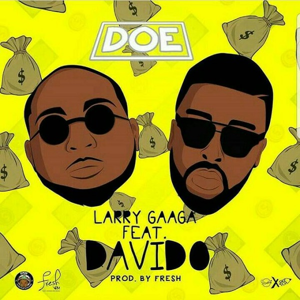 Larry Gaaga x Davido Doe Artwork