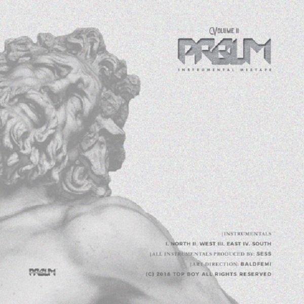 Sess The PRBLM Free Instrumental Mixtape (Vol. 2) Artwork