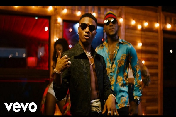 DJ Spinall & Wizkid Nowo Video