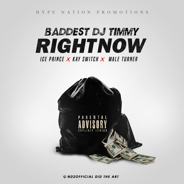 DOWNLOAD MP3: DJ Timmy – Right Now ft  Ice Prince, Kayswitch