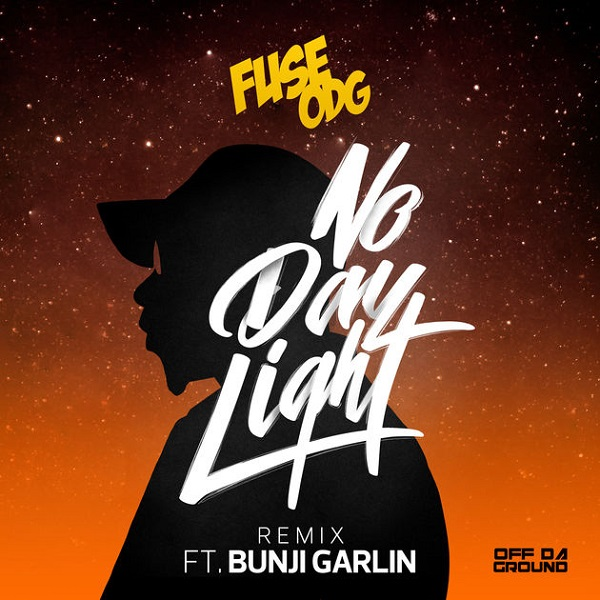 Fuse ODG No Daylight (Remix) Artwork