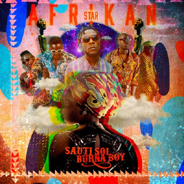 Sauti Sol Afrikan Star Artwork