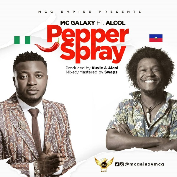 MC Galaxy Pepper Spray Artwork