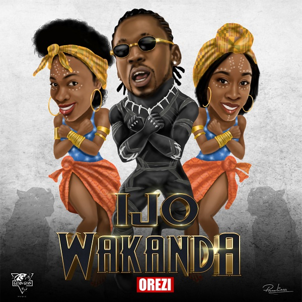 Orezi Ijo Wakanda Artwork