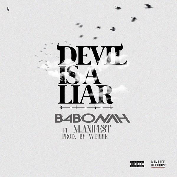 B4Bonah The Devil Is A Liar (Remix) Artwork