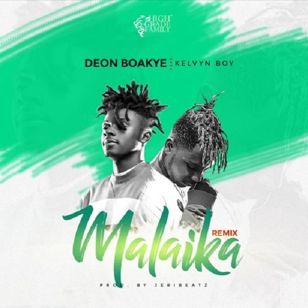Deon Boakye Malaika (Remix) ft. Kelvyn Boy Artwork