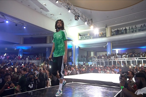 DOWNLOAD VIDEO: J Cole Live In Lagos Full Performance - NaijaVibes