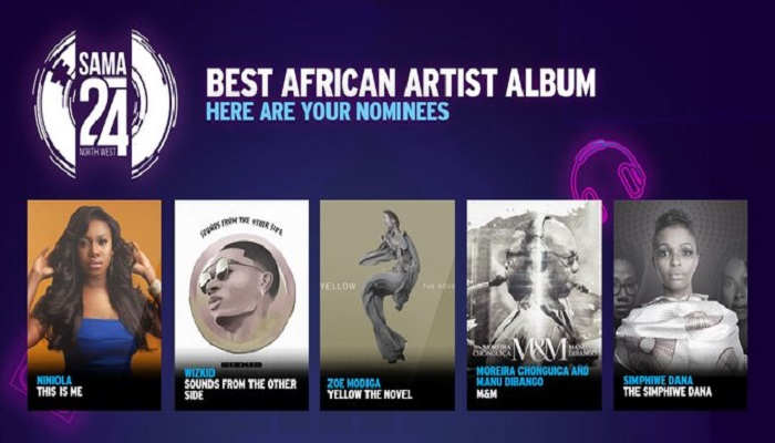 SAMA 2018 Winners List