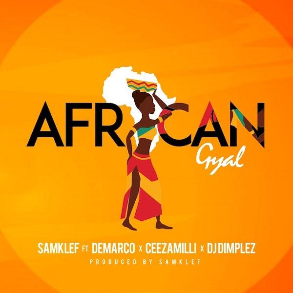 Samklef African Gyal Artwork