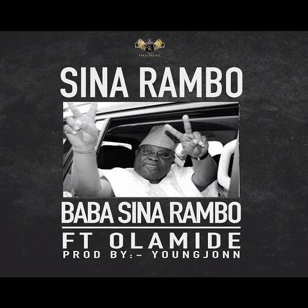 Sina Rambo Baba Sina Rambo Artwork