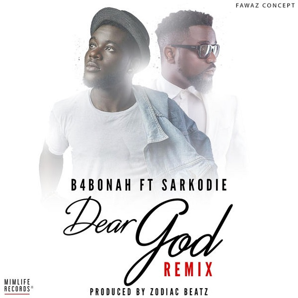B4Bonah Dear God (Remix) Artwork
