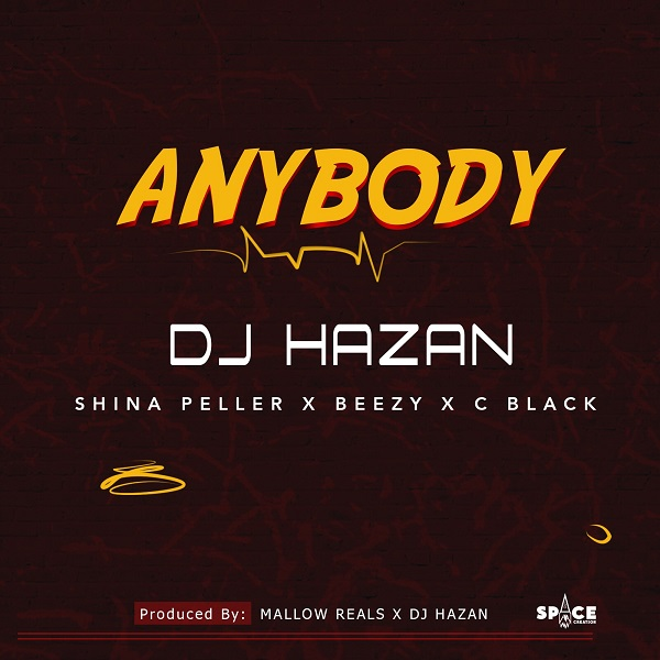 DJ Hazan Anybody Artwork