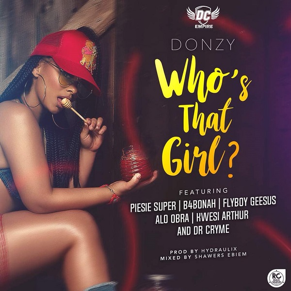 Donzy Who's That Girl Artwork
