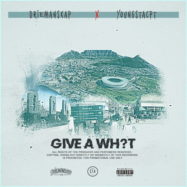Driemanskap Give A What Artwork