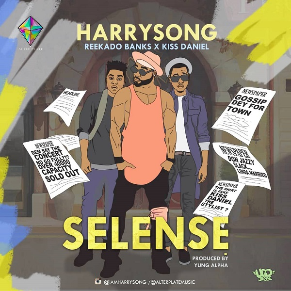 Harrysong Selense Artwork