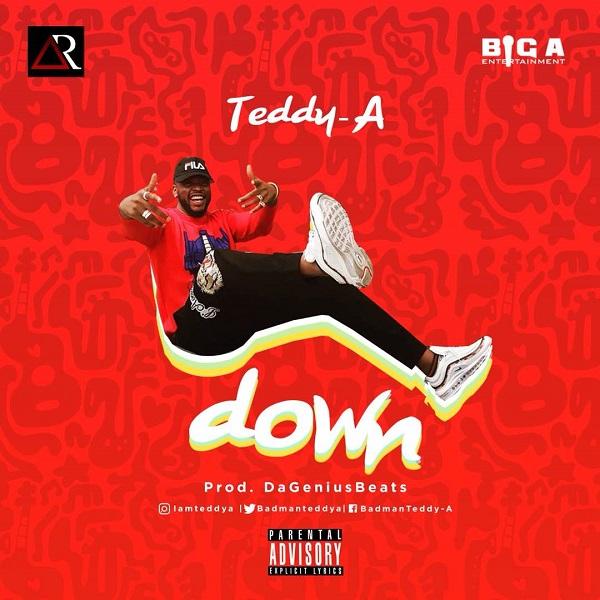 Teddy A Down Artwork