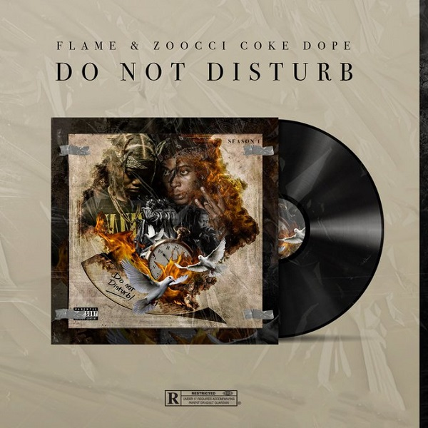 Zoocci Coke Dope & Flame Do Not Disturb Artwork