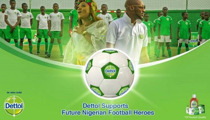 2Baba ft Waje Dettol Future Football Heroes Artwork