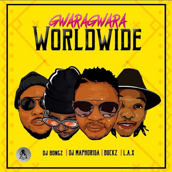 DJ Bongz GwaraGwara Worldwide Artwork