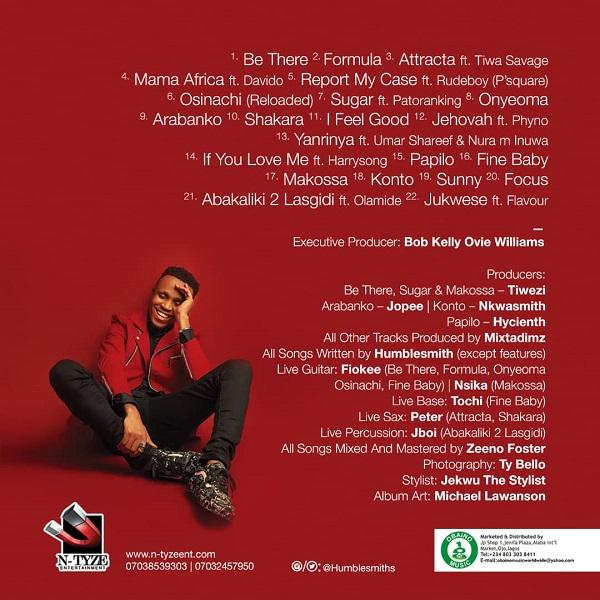 Humblesmith Osinachi Album Tracklist