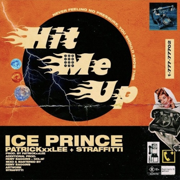 Ice Prince Hit Me Up Artwork