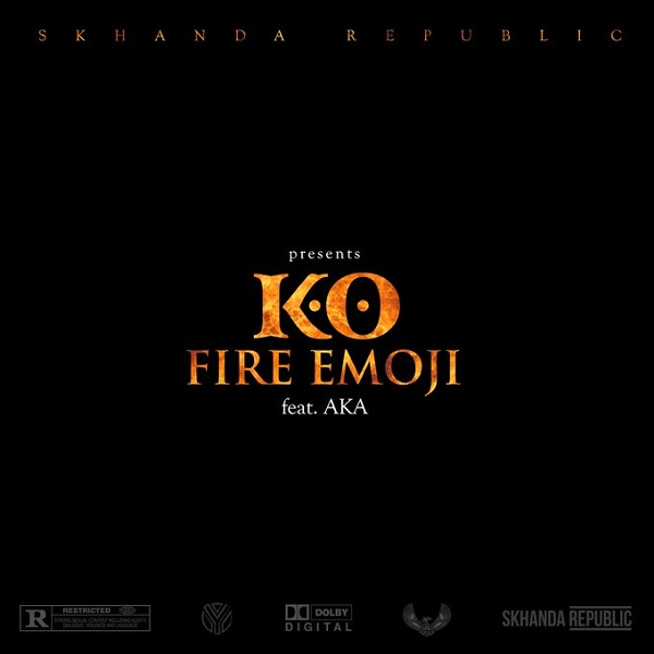 K.O Fire Emoji Artwork