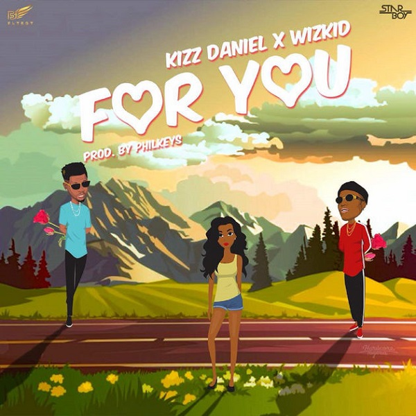 Kizz Daniel For You Artwork