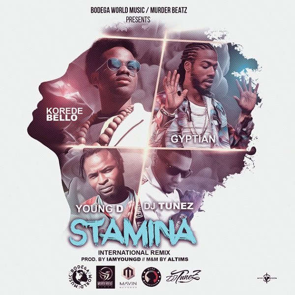 Korede Bello Stamina (International Remix) Artwork