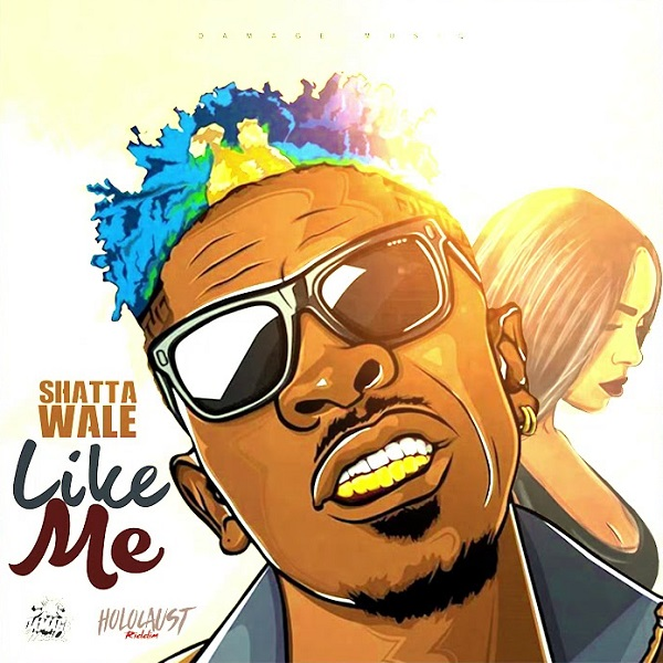Shatta Wale Man Like Me Artwork