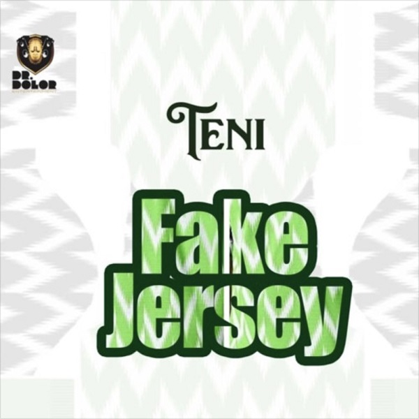 Teni Fake Jersey Artwork